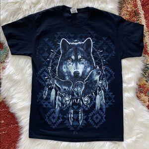 Wolfpack dreamcatcher shirt size M